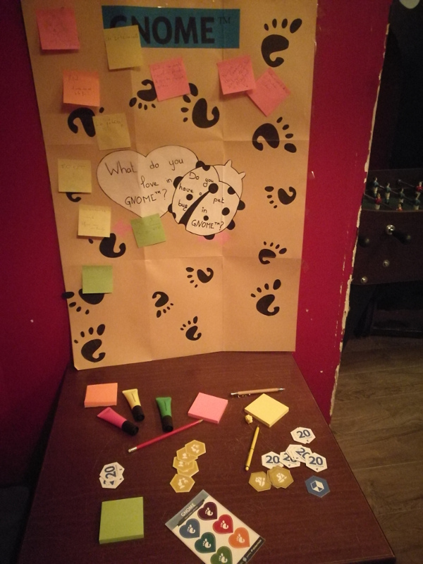 Love wall at the party